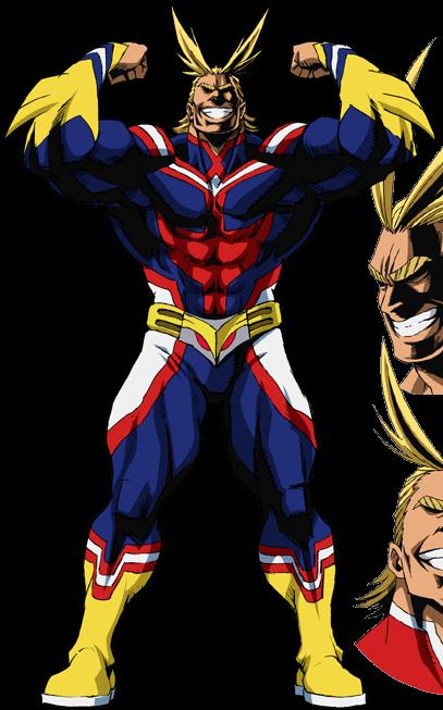All Might Hero personaje
