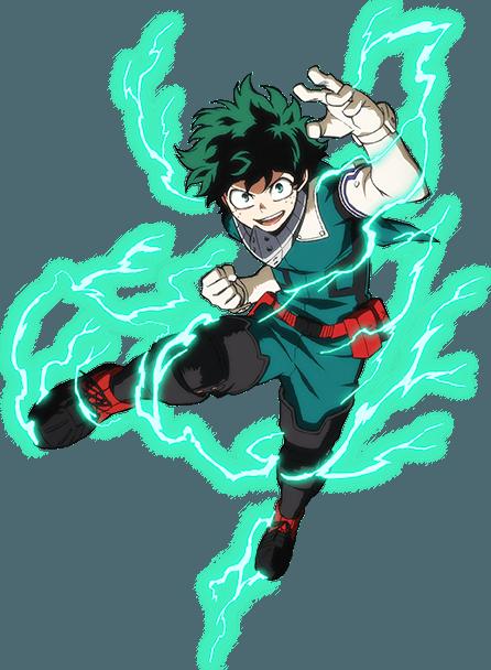 Izuku Midoriya personaje