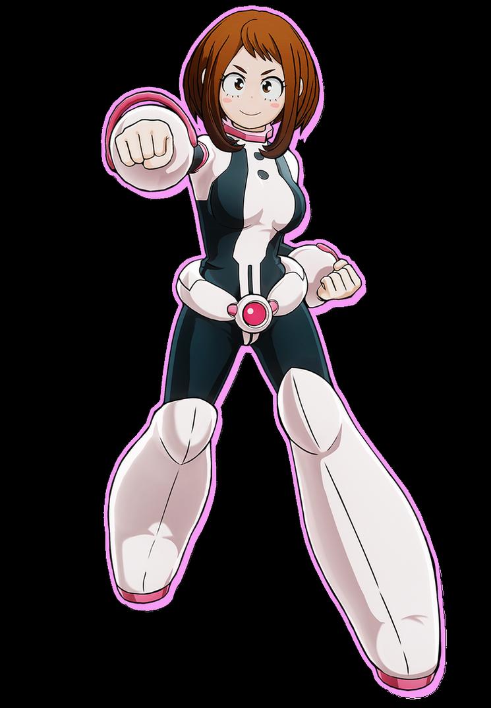 ochako-uraka-personaje