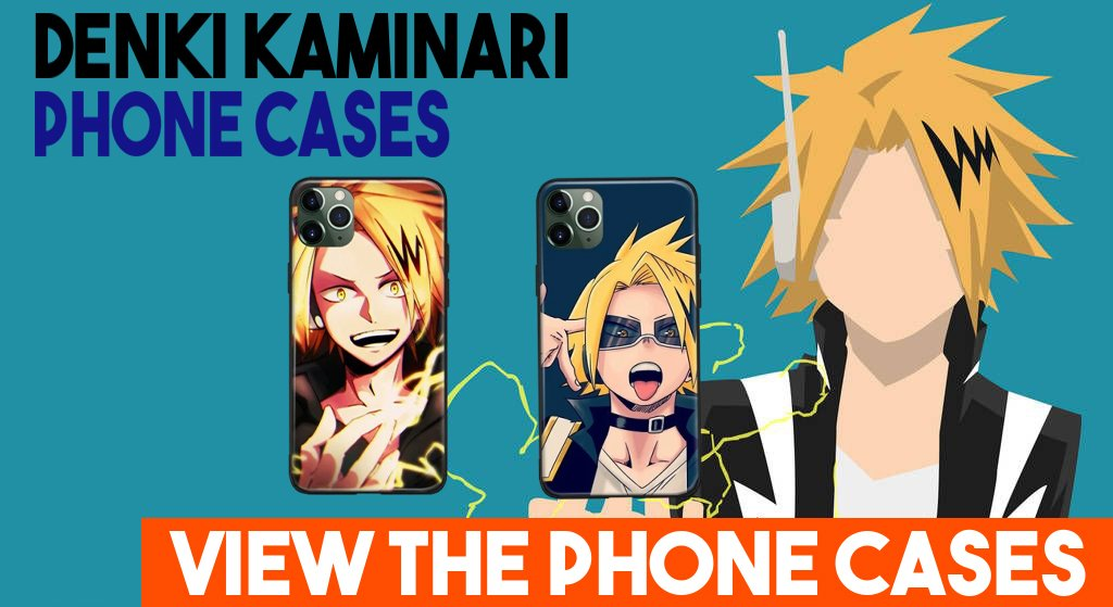 Casos de iPhone de Denki Kaminari