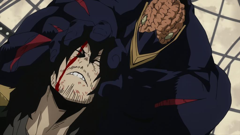 Nomu vs Aizawa Shota