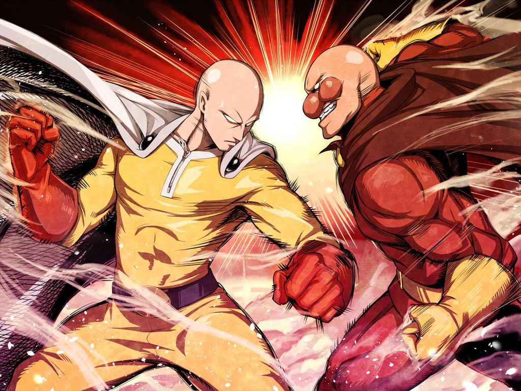 Saitama One Punch Man Anpanman