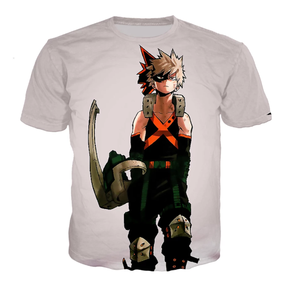 Camiseta de Katsuki Bakugo